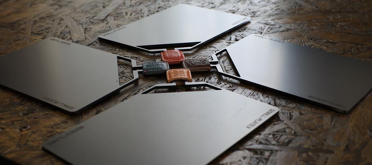 SMALL-PLATE ワンバーナー用の黒皮鉄のプレート