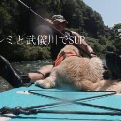 ボーンズラボの看板犬とSUP遊び2021.7.21